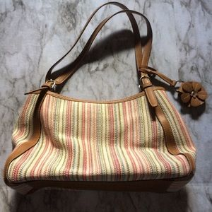 Fossil Corlinas Striped Handbag